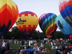 four balloons