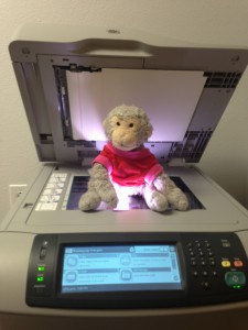 *sigh* Monkey finds the Xerox machine.