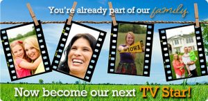 you're already part of our family, now become our next tv star - linn area credit union