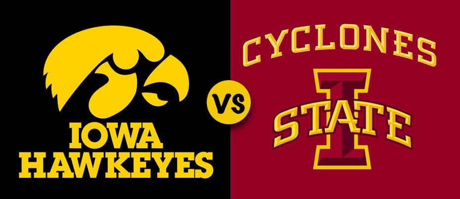 U of I and Iowa State logos