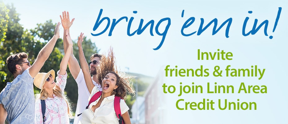 Bring 'em in! Member referral promotion