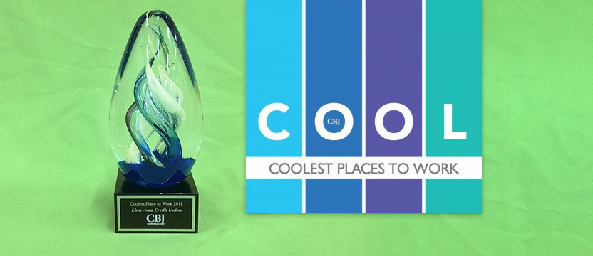 Coolest Places to Work award and logo