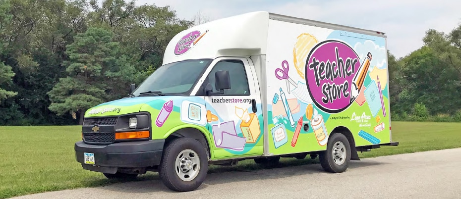 The Teacher Store truck